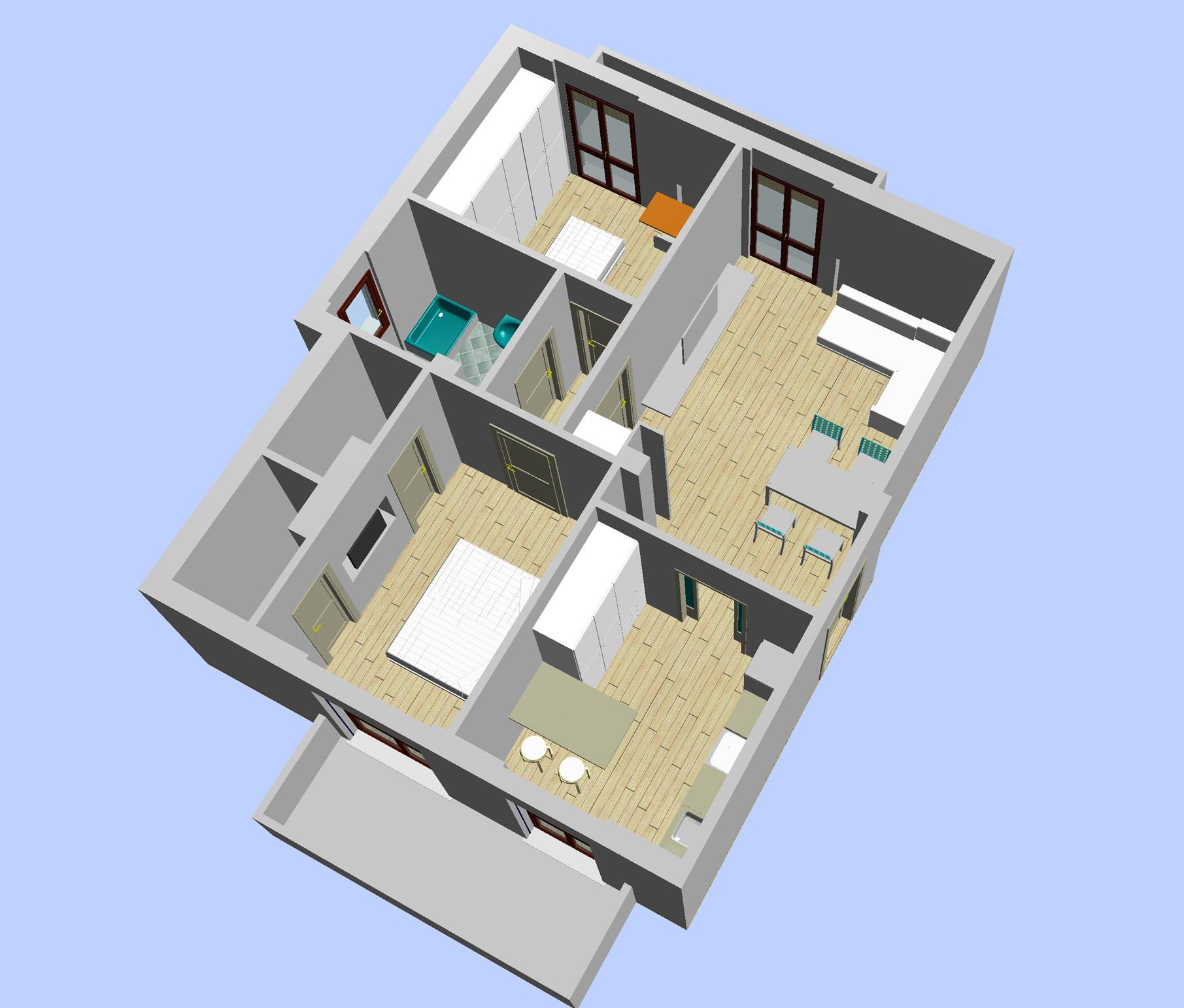 Progettazione civile tecnotre project s r l for Progettazione di edifici residenziali